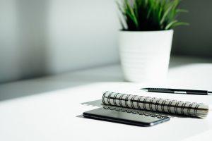 plant-pot-mobile-phone-planner-pen